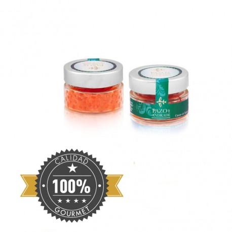 Caviar de Salmón Salvaje 100g