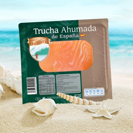 TRUCHA Ahumada 100g